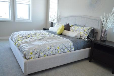 Komfortable seng
