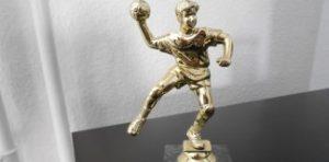 Medaljer og pokaler håndbold