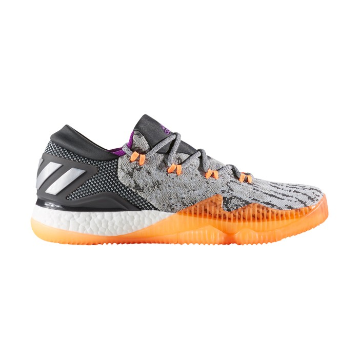 Adidas Crazylight Boost Low 2017 Grå Håndboldsko