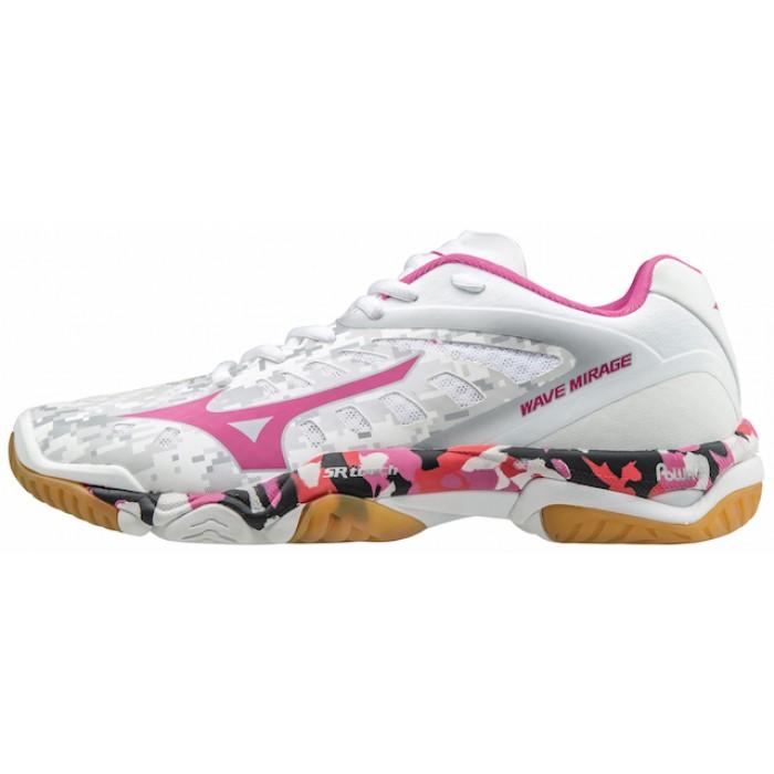 Mizuno Wave Mirage W 2017 Hvid/Pink Håndboldsko
