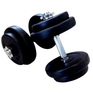 20 kg kunststof håndvægtsæt
