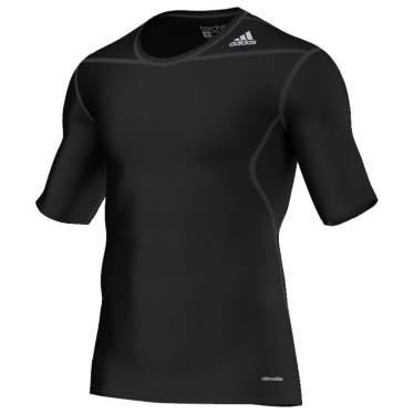 Adidas Techfit Base Short Shirts sort
