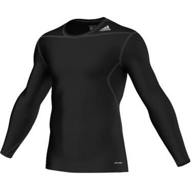 Adidas Techfit Base long shirts sort