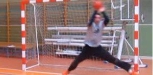Målmandstræning i håndbold