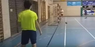 trickskud håndbold