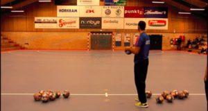 Håndbold Crossbar Challenge - Danmark vs Frankrig - Herre U20 landholdet