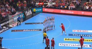 Mikkel Hansen 3 meter kast